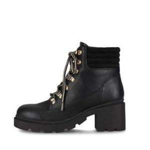 Tommy Hilfiger Abelia Lace-Up Combat Boot